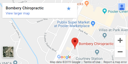 Map of Pooler GA Chiropractors